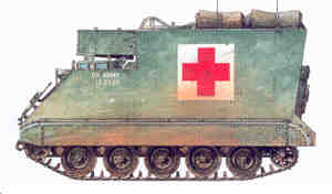 M577A1 Field Aid Station
