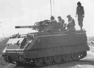 M163 Vulcan in action